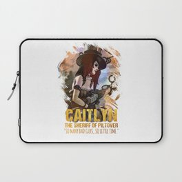 League of Legends CAITLYN - [The Sheriff Of Piltover] Laptop Sleeve