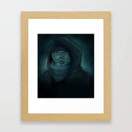 the author of the journals Framed Art Print