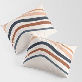 Retro Stripes Pillow Sham