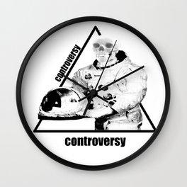 Controversy Triangle Wall Clock