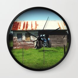 Maccas Drive Thru - Country Style Wall Clock