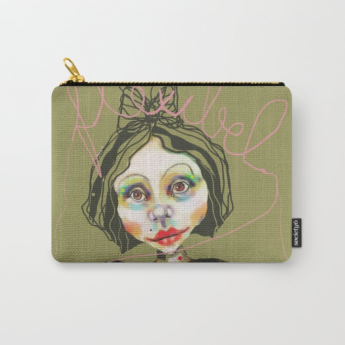 flexible girl Carry-All Pouch