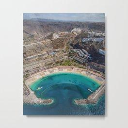 Amadores beach - Gran Canaria Metal Print