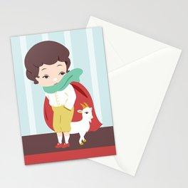 Porcelain Boy  Stationery Cards