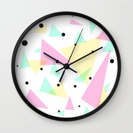i have no idea of what i'm doing Wall Clock