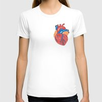 anatomical heart T-shirts featuring Anatomical Heart by KA Doodle