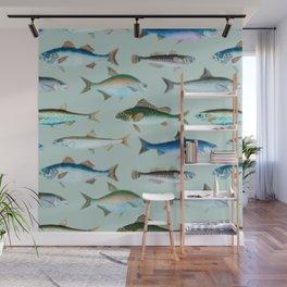 School of Fish No. 2 Wall Mural