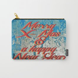 Merry X-Mas & a happy New Year Carry-All Pouch