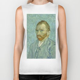"Vincent van Gogh ""Self-portrait"" (1) Biker Tank"