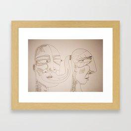 Let me go Framed Art Print