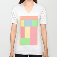 pantone V-neck T-shirts featuring Pantone mix by StevenARTify
