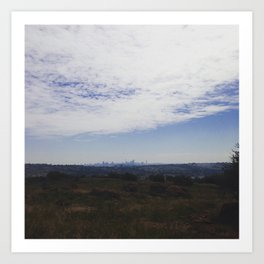 #288 #HumanRightsDay #Hike in Johannesburg Art Print