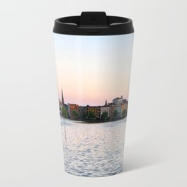 Clear & Blurry Lake Travel Mug