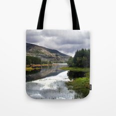 lakeside in norway. Tote Bag