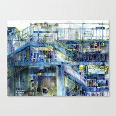 Subway - Bronx, New York  Canvas Print