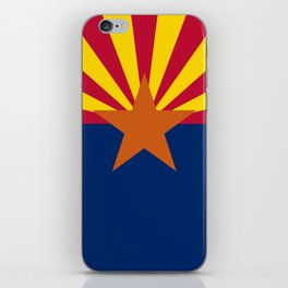 Arizona State flag, Authentic scale & color iPhone Skin