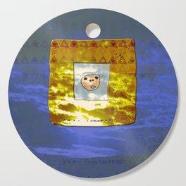 Tribal Idol / Canary Islands Cutting Board