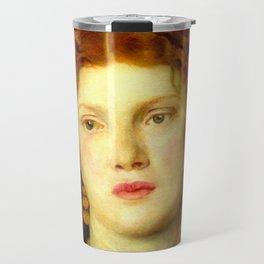 "Dante Gabriel Rossetti ""Bocca Baciata"" Travel Mug"