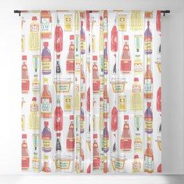 Asian Seasonings Sheer Curtain