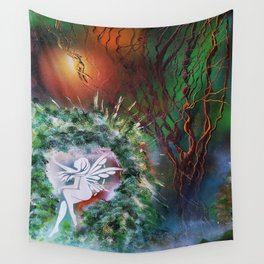 Elves Land Wall Tapestry