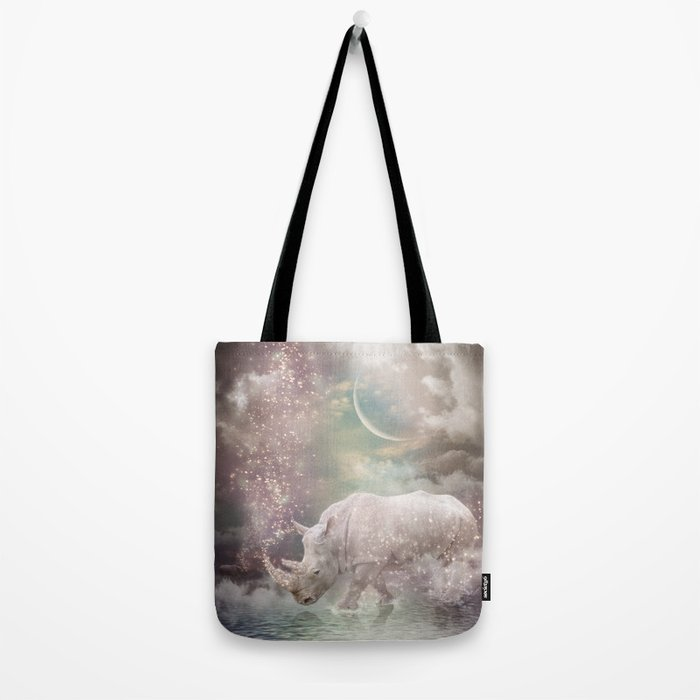 The Most Beautiful Have Known Defeat, Suffering, Struggle... (Rhino Dreams)  Tote Bag