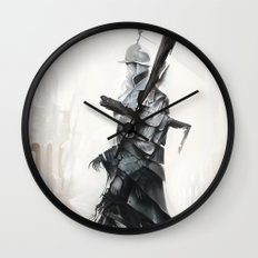 Apparition of War Wall Clock