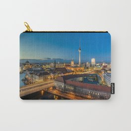 Berlin Blues Carry-All Pouch