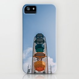 Ferry Wheel at the top of Tibidabo iPhone Case