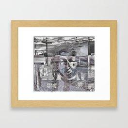 """""""Honey, Paul Bowles Called."""" Framed Art Print"""