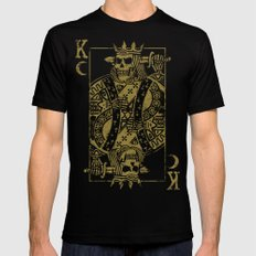 Suicide King MEDIUM Black Mens Fitted Tee