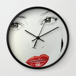 Monica Bellucci Wall Clock