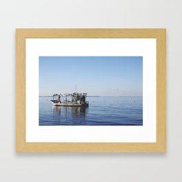 The Fisherman. Framed Art Print