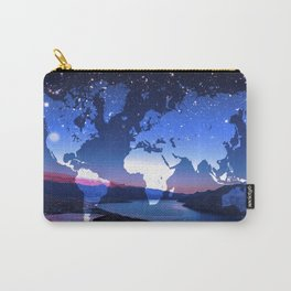 So Many Places to Visit Carry-All Pouch