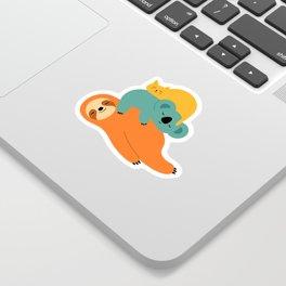 Being Lazy Sticker