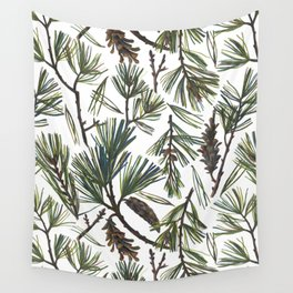 Pine Bough Wall Tapestry