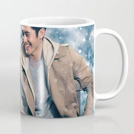 Last Christmas 2019 poster promotional materials Christmas comedy Emilia Clarke Henry Golding Coffee Mug