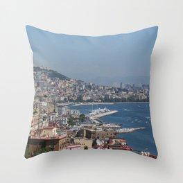 Nepal views Throw Pillow