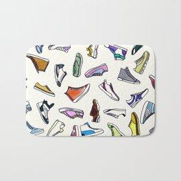 sneakers addiction Bath Mat
