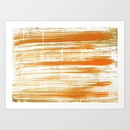 Tigers eye abstract Art Print