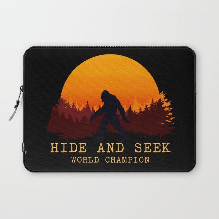 Bigfoot - Hide and Seek World Champion Laptop Sleeve