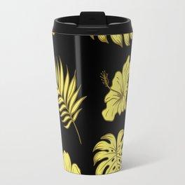 LEAVES AND FLOWERS Travel Mug