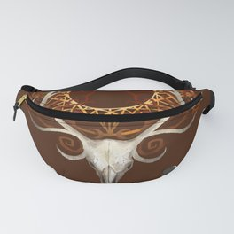 Season Of The Moons Autumn Fire Fanny Pack