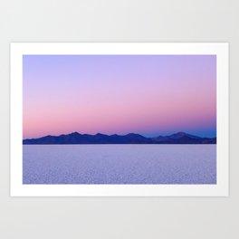 Dawn on the Salar de Uyuni Art Print