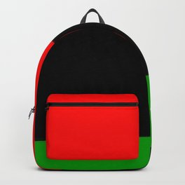 Red Black and Green Backpack