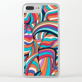 African Style No24, Sahara echoes Clear iPhone Case