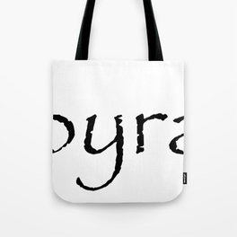 Papyrass Tote Bag