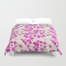 Dreamy Bougainvillea Duvet Cover