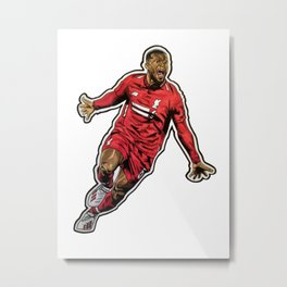 Gini Celebration Metal Print