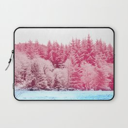 Candy pine trees Laptop Sleeve