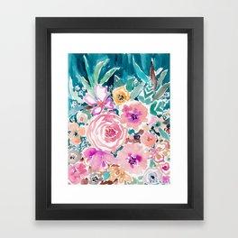 SMELLS LIKE SWEET SALT SPRAY Framed Art Print